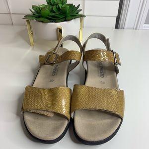 aea30b3e3699c Mephisto Shoes | Agave Sling Back Sandal Camel Size 39 | Poshmark